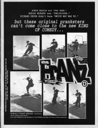 Ron Knigge New Deal Skates Advert July 1992