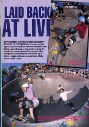 Five skaters in Livingston bowl