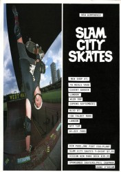 Ken Park, Latimer Road, advert for opening of Slam City in Neal's Yard