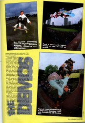 Lance Mountain, Tommy Guerrro, Mike Vallely: Latimer Road, London 1988