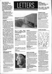Skateboard letters September 1988