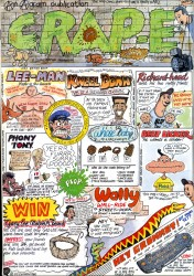 Doug Cameron Cartoon for Pacer Advert