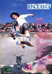 Justin Ashby at Livingston Skatepark 1988