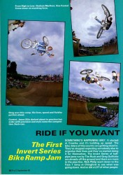 Graham Marfleet, Greg Guillotte, Jason Ellis from BMX Comp at Chingford