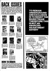 Anarchic Adjustment Advert 1988