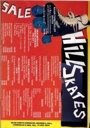 Hills Skates Advert 1988