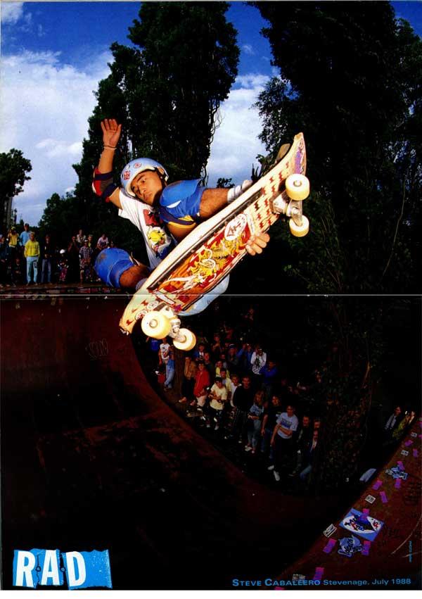 Classic skateboarding steve caballero stevenage for Classic house 1988
