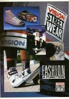 Vision Streetwear Advert November 1989