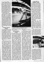 Last page of report on 1989 Dundee skateboard competition