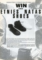 Win Etnies Shoes Competition from 1989