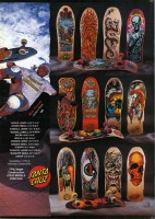 Santa Cruz Skateboard Ad featuring Mike Prossenko