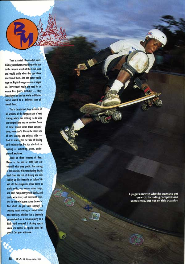 jason ellis skateboarding. laaja at beast manior, 1989. \u201c jason ellis skateboarding i