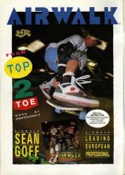 Sean GoffAirwalk shoes advert 1989