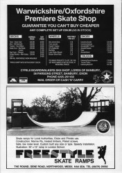 Cyrils and Freestyle Ramps Adverts 1989