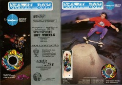 Death Box Skateboard Advert December 1989