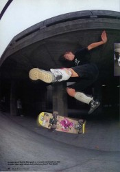 Chris Howell, Ollie Kick-flip, South Bank 1989