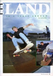 Skateboarding Ireland 1989