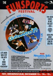 Funsports Festival Advert 1989