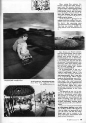 On manoeuvres: skaters and the army, Ireland 1989
