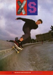 Will Bankhead skates Buckingham Palace