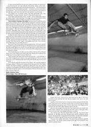 Scan of last page of Munster skate competition article from 1991