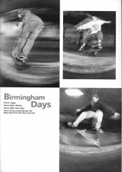 Birmingham Moor Street Car Park Skating 1991 style