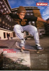 Warren Brown Skateboard Intro 1991