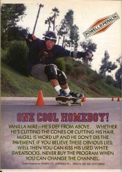 Mike McGill Powell advert from 1991