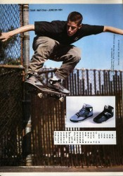 Vision Street Wear Shoes Joe Gruber Advert 1991