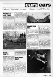 British skateboarding news from 1991